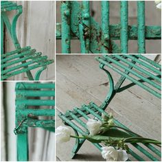 Antique Edwardian Cast Iron Conservatory Plant Stand