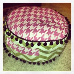 Sewing Project: Child's Pouf - Creative Outpour