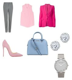 """""""smart casual"""" by booking2013 ❤ liked on Polyvore featuring Fenn Wright Manson, Splendid, Alexander McQueen, Christian Louboutin, Michael Kors, Kobelli and Larsson & Jennings"""