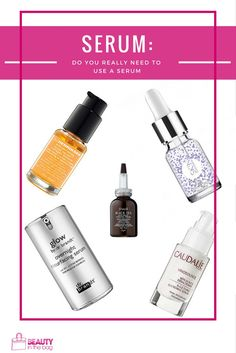 DO YOU REALLY NEED TO USE A SERUM?