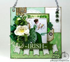 Irish Sewing Wall Hanging 1