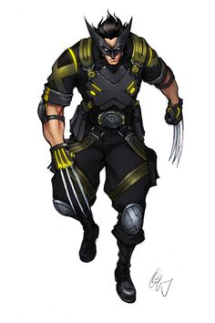 Wolverine Looking Sharp 1 by ~Grailee on deviantART