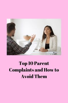 Top 10 Parent Complaints for Child Care Providers and How to Avoid Them Block Center Preschool, Parent Communication, Classroom Community, Child Care, Career Advice, Teacher Appreciation, Classroom Management, Dinner Ideas, Back To School