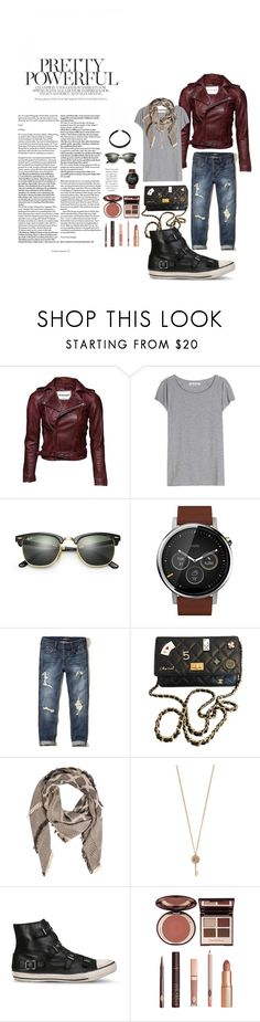 """""""September wish list"""" by tizia26 on Polyvore featuring Acne Studios, Ray-Ban, Motorola, Hollister Co., Chanel, Look by M, Aéropostale, Ash and Charlotte Tilbury"""