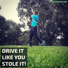 The burst of golf swing speed stimulates the growth of fast twitch muscle fibers, extra clubhead to ball speed, noticing more distance on your driver. Different Types Of Shots, Golf Swing Speed, Swing Trainer, British Open, Golf Videos, Muscle Memory, Golf Attire, Golf Exercises, Golf Player