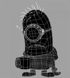 wire - Minion Contest - Gallery - CGMeetup - Art - Vfx - Animation - Tutorials - Jobs