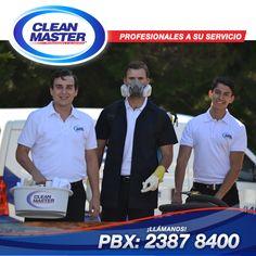 En Clean Master contamos con un personal capacitado en Limpieza General, Limpieza de Mueble, Outsourcing y Control de Plagas. Profesionales a tu servicio. PBX.: 2387 8400. Sera un gusto poder servirte.