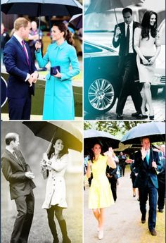 Will and Kate Prince and Duchess