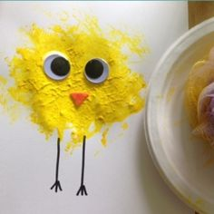 Loofah Chick Craft from Meaningful Mama