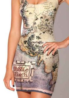 Middle earth dress!!:O 35 Clever Gifts Any Book-Lover Will Want To Keep For Themselves