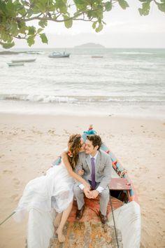 REAL BRIDE { Giselly + Danillo } Rio de Janeiro • Buzios • Brazil | photo Layla Eloa