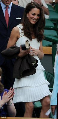 Catherine at Wimbledon 2011