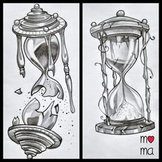 hourglass idea tattoo                                                                                                                                                                                 Mehr