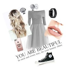 """""""Rock Your Dress Everyday"""" by fashionfangirls on Polyvore featuring Converse, Jouer, Casetify and Disney"""