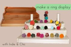 step by step tutorial for jewelry display. think craft booths, personal and more!