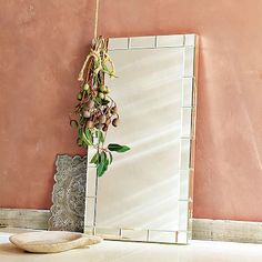 Mirror-Framed Wall Mirror #westelm
