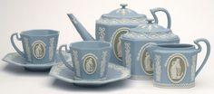 Wedgwood Jasper Tea Set