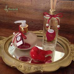 Linha Vanilla: aromatizador de ambiente e sabonete líquido. Aroma adocicado, estimulante e afrodisíaco!