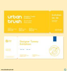 Ticket Design, Label Design, Flyer Design, App Design, Banner Design Inspiration, Business Card Design Inspiration, Collateral Design, Stationery Design, Graphic Design Layouts
