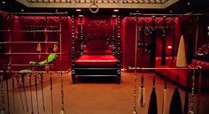 In Fifty Shades of Grey, the moment Ana steps into the Red Room of Pain is the moment that her relationship with Christian (and her life) changes. So when it came time for Dakota Johnson to play that moment, she decided that she wanted it to be as real as possible. In other words, Ana's first time in the Red Room was also Johnson's first time in the Red Room.  In an exclusive clip from the film's Blu-ray release, Johnson talks about her authentic reaction to the Room, while Jamie Dornan…