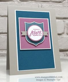 Badges & Banners, Mixed Borders, Touches of Texture, Stampin' Up!, Brian King, PPA309