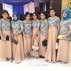 119 Best Bridesmaid Images In 2017 Kebaya Brokat Kebaya Lace
