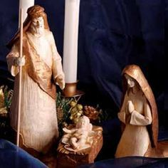 PRESÉPIO   JESUS, MARIA E JOSÉ