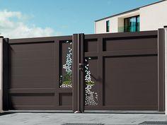 Latest Gate Design, Modern Main Gate Designs, Home Gate Design, House Main Gates Design, Front Gate Design, Fence Design, Door Design, Compound Gate Design, Metal Garage Doors