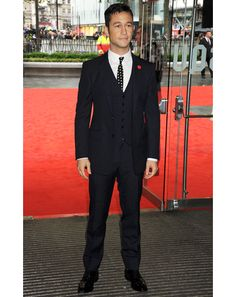 Seriously. . JGL does it AGAIN! Rocking the three piece
