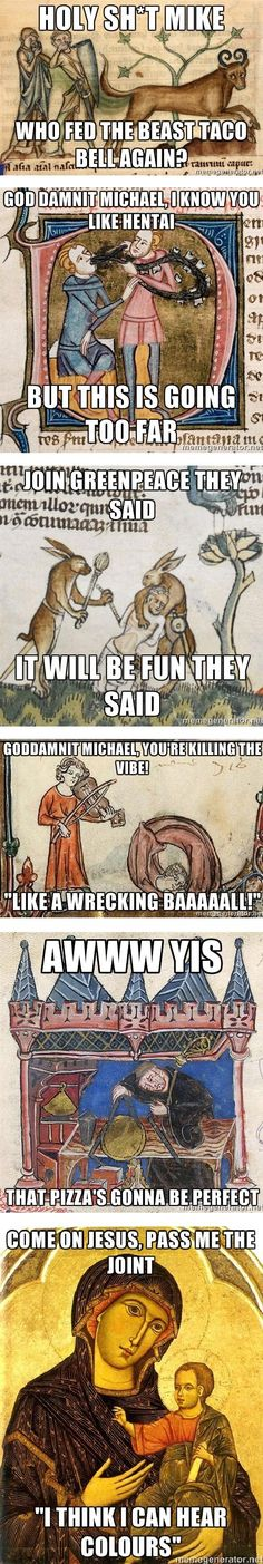 Medieval memes made my morning