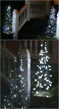 Basteln Weihnachten Winter, Lichterkette, Silvester, Adventszeit,  Geschenke, Weihnachten Hacks, Weihnachtsbasteln
