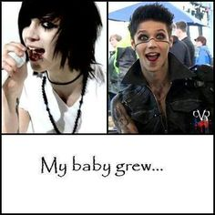 indeed he did, and he grew into an amazing guy ♥