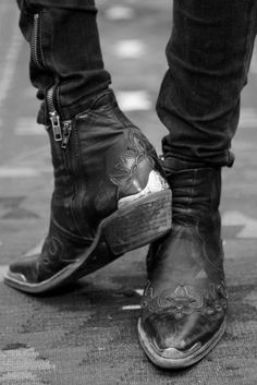 Those Country Girls   Leather Boots