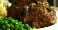 Let Your Slow Cooker Do the Work With This Classic and Delicious Slow Cooker Salisbury Steak!