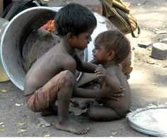 Babies taking care of babies ~~~ Rural Poverty in India | Moms Against Hunger