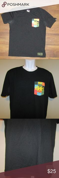 3a7498a6393 Nike BHM Pocket T-Shirt Black Size Large Dry Fit Item is pre-owned