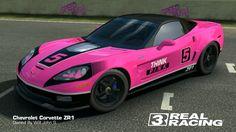I think Pink is not too bad.. #MyModoficartion #ChevroletCorvetteZR1 #RealRacing3 #RealRacingEA #ElectronicArt #NeedForSpeed #bestracegame #menstoys #iOS