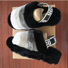 UGGS: Everything you need to know about them! Sock Shoes, Ugg Shoes, Shoe Boots, Cute Uggs, Baddie, Fluffy Shoes, Cute Slides, Ugg Style Boots, Vegan Boots