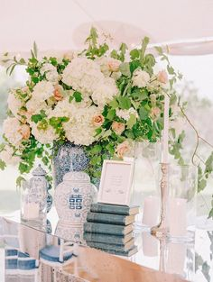 Check out this Maryland wedding with crisp, white and blue summer details. Katie Stoops Photography was there to capture this gorgeous wedding Mod Wedding, Floral Wedding, Wedding Flowers, Summer Wedding, Wedding Dress, Dream Wedding, Autumn Wedding, Trendy Wedding, Wedding Bells
