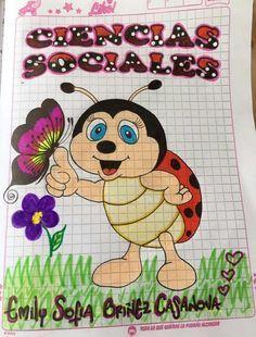 #resultado #caratulas #cuadernos #imagen #para #deResultado de imagen para caratulas para cuadernos Birthday Chart Classroom, Birthday Charts, Math Classroom, Front Page Design, Page Borders Design, Border Design, Notebook Cover Design, Notebook Art, Foam Crafts