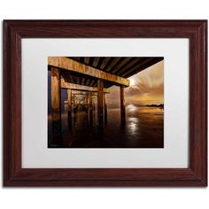 Trademark Fine Art Coney Island - Brooklyn, NY II Canvas Art by David Ayash, White Matte, Wood Frame, Size: 11 x 14