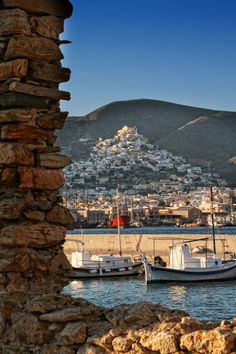 ano Syros Greece )( Syros Greece, Beautiful Places, Beautiful Pictures, Greek Beauty, Greece Islands, Paros, Future Travel, Travel And Leisure, Ancient Greece