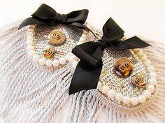 Broche de hombro charretera hombro joyería boda establece para la joyería de novias hombro hombro charreteras hombro charreteras de plata corona