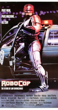 Robocop Written by Edward Neumeier and Michael Miner, Robocop is a 1987 sci-fi action film directed by Paul Verhoeven and starring Peter Weller, Nancy. Sci Fi Movies, Action Movies, Movie Tv, Action Film, Watch Movies, Film D'action, Bon Film, Gwendolyn Christie, Film Mythique