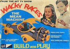 MPC - The Mean Machine - from TVs The Wacky Races