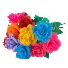 Plastic flowers, definitely K!