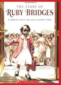 Children's Literature Book Read about and describe the life of historical figures in American history. Ruby Bridges (civil rights). -This story tells the story of what Ruby Bridges did when she was 6 years old. African American Girl, American Children, American Baby, Robert Cole, Civil Rights Movement, Inspiration For Kids, Nursery Inspiration, Children's Literature, Black History Month
