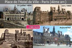 Quand Paris change au fil des siècles - Évolution de Paris en images - Le Paris d'Alexis