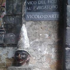 #vicolodarte #napoli