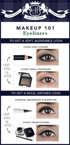Take some notes, Elfette! Time to learn all about eyeliners and what they can do for your eye shape. Check out my top picks for e.l.f. liners and notice that you don't have to use JUST a liner... sometimes a shadow can be just as beautiful or match your look better! Get creative and play with lines and formulas